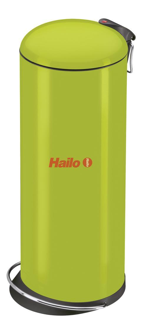 Hailo TOPdesign L lemon - nášlapný odpadkový koš