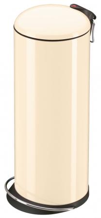 Hailo TOPdesign L vanilkový lak - nášlapný odpadkový koš