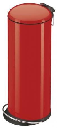Hailo TOPdesign L červený - nášlapný odpadkový koš