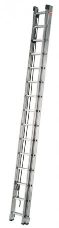 7285-001 PROFI žebřík s lanem 2 x 15 příček
