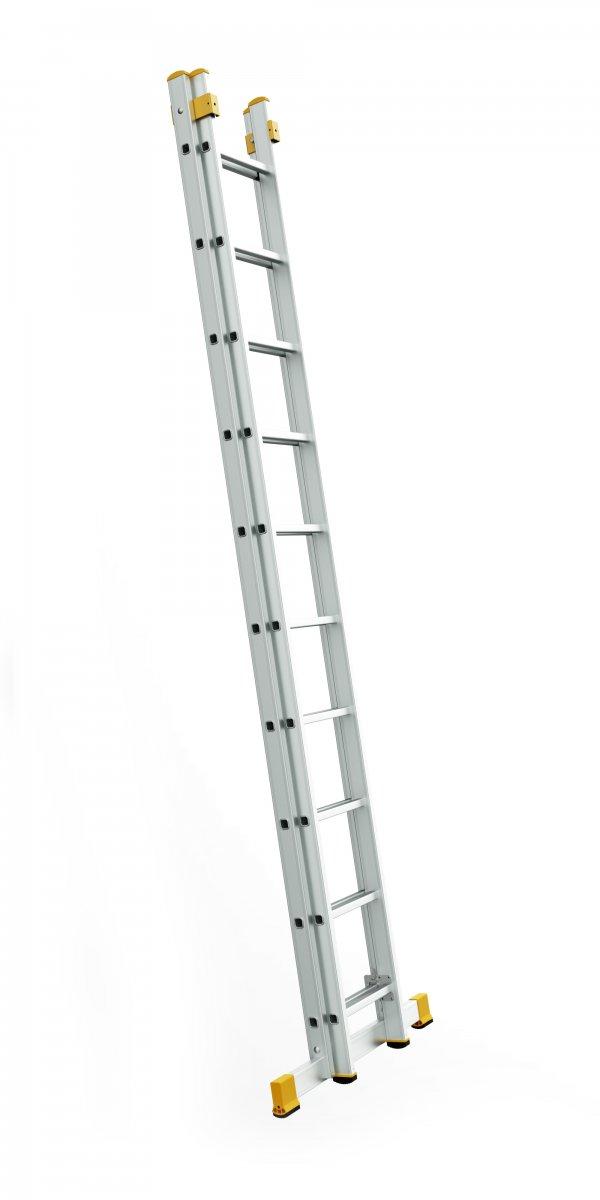 8508 - žebřík dvoudílný univerzální 2 x 8 příček