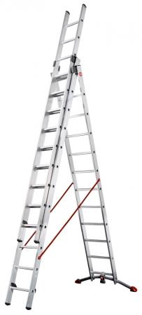žebřík trojdílný s úpravou na schody