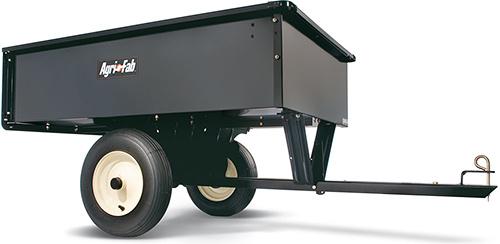 AF 653 - heavy duty tažený vozík se sklápěcí korbou