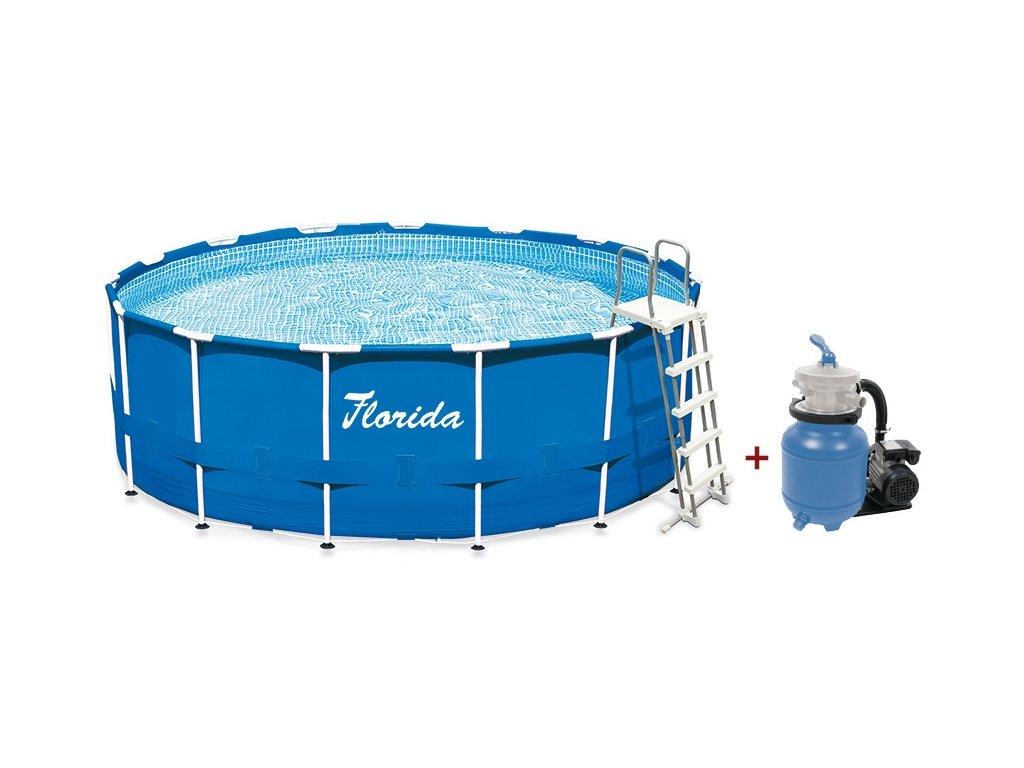 Bazén Florida 3,66x0,99 m s pískovou filtrací ProStar 3