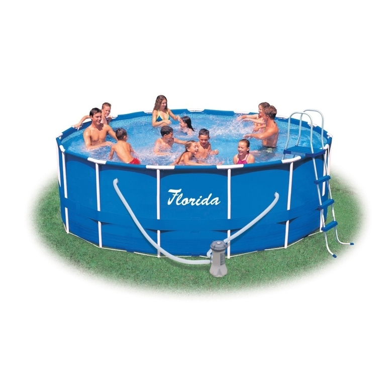 Bazén Florida 4,57 x 1,22 m s kartušovou filtrací