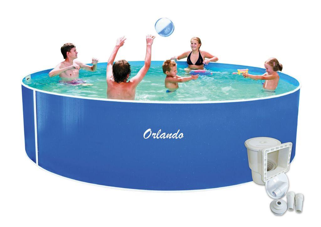 Bazén Orlando 4,57x1,07m + skimmer Olympic