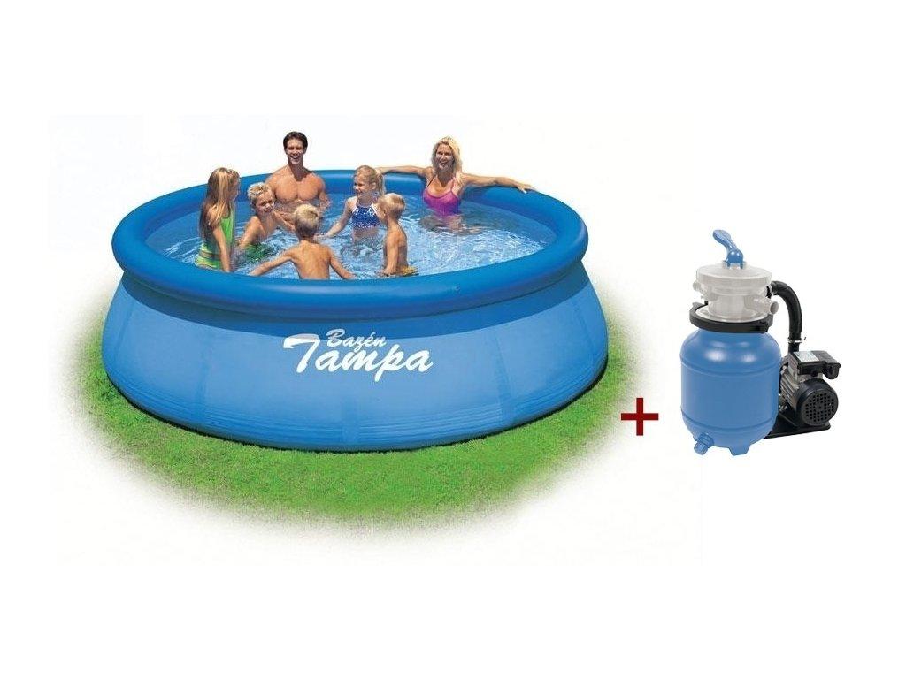 Bazén Tampa 4,57x1,22 s pískovou filtrací ProStar 3