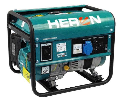 HERON EG 11 IMR - benzínová elektrocentrála 1100 W / 2,8 HP