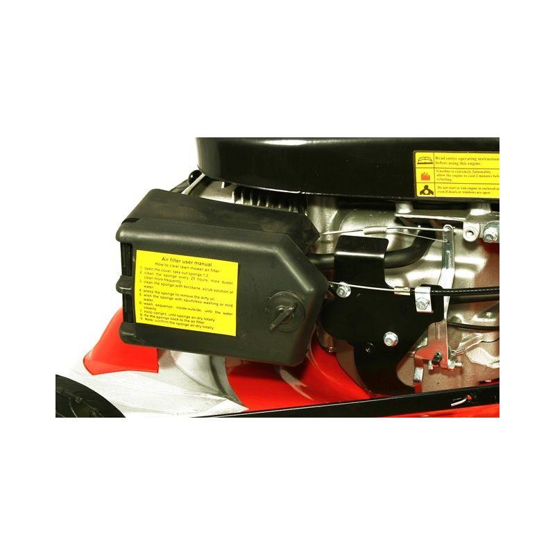 Benzínová sekačka s pojezdem SH 2750 6 HP+náhradní nůž ZDARMA