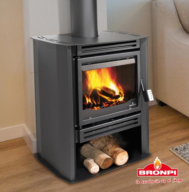 Bronpi IRLANDA - krbová kamna s ventilátorem