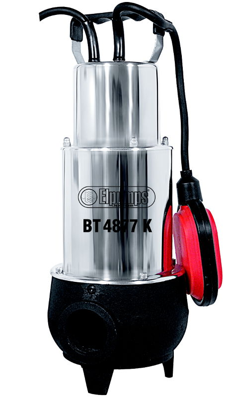 BT 4877 K INOX - kalové čerpadlo do septiku s oběžným kolem