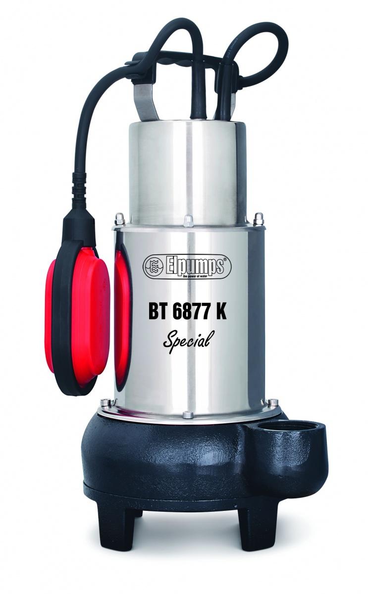 BT 6877 K Special - kalové čerpadlo do septiku s oběžným kolem
