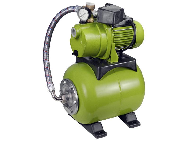 čerpadlo el. proudové s tlak. nádobou, 600W, 3600l/hod, 20 l, EXTOL CRAFT