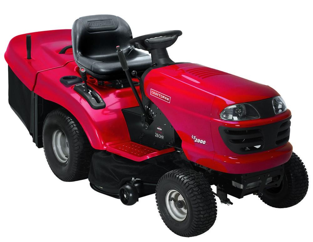 CRAFTSMAN CRD 17,5 HP zahradní traktor se zadním výhozem + DÁREK