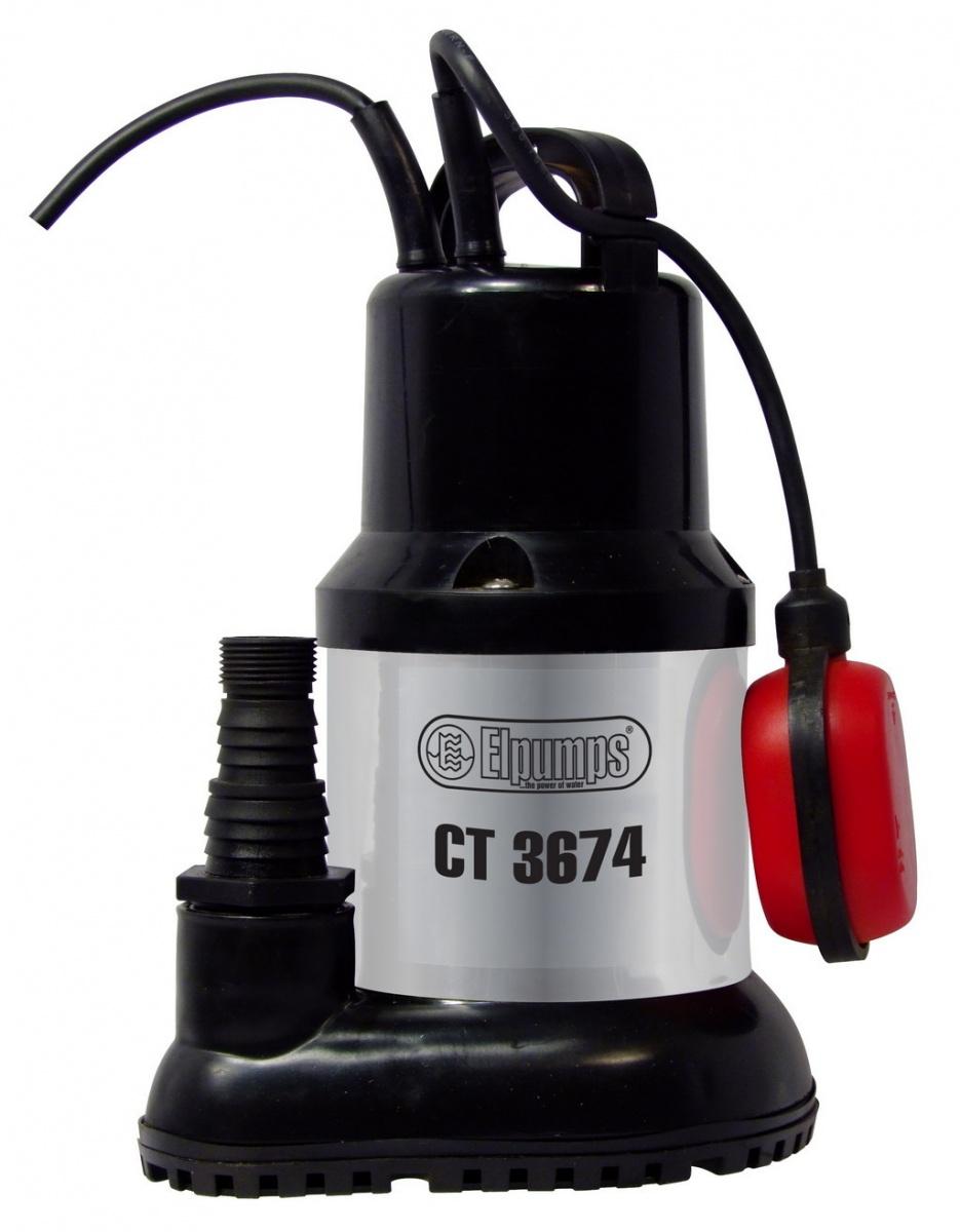 CT 3674 - univerzální ponorné kalové čerpadlo