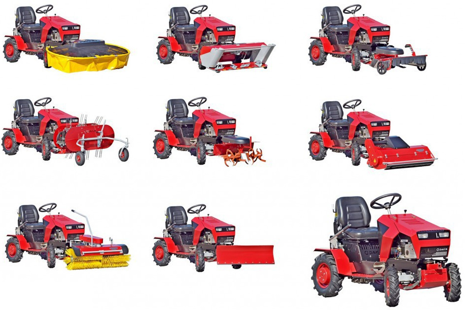 Dakr Panter FD-5 - malotraktor