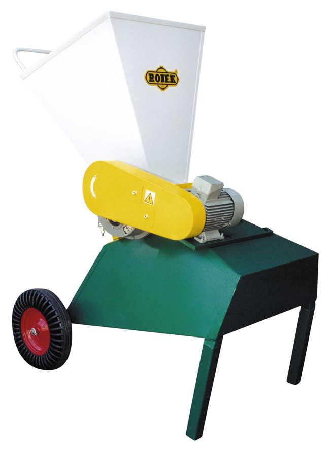 DH 10 E - drtič dřevní hmoty