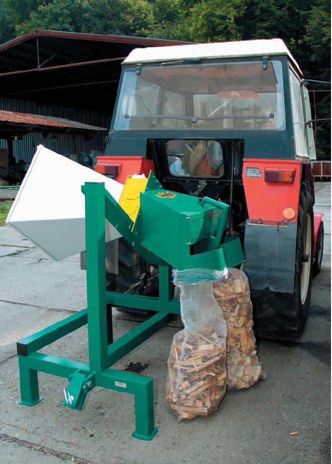 DH 10 TP - drtič dřevní hmoty