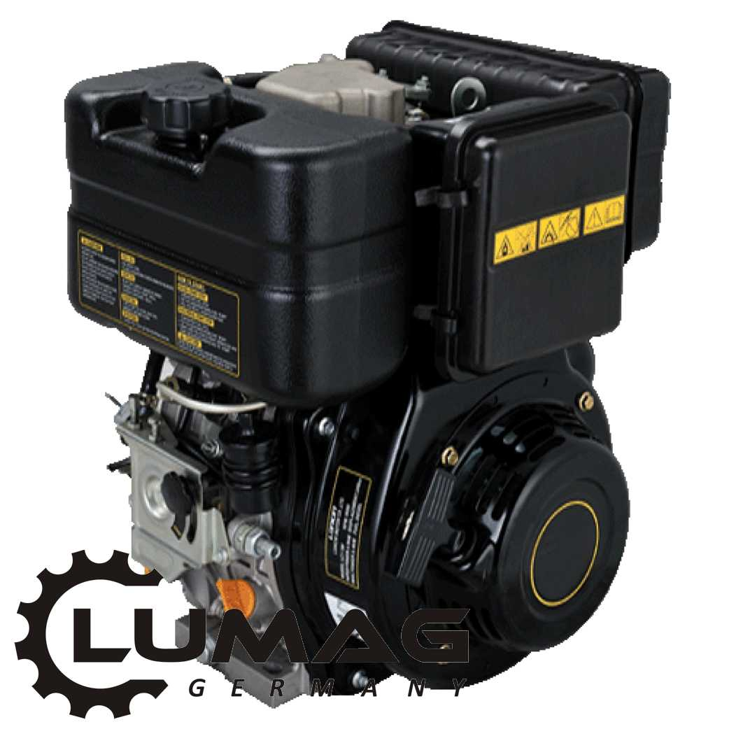 Dieselový motor LUMAG LC178-F