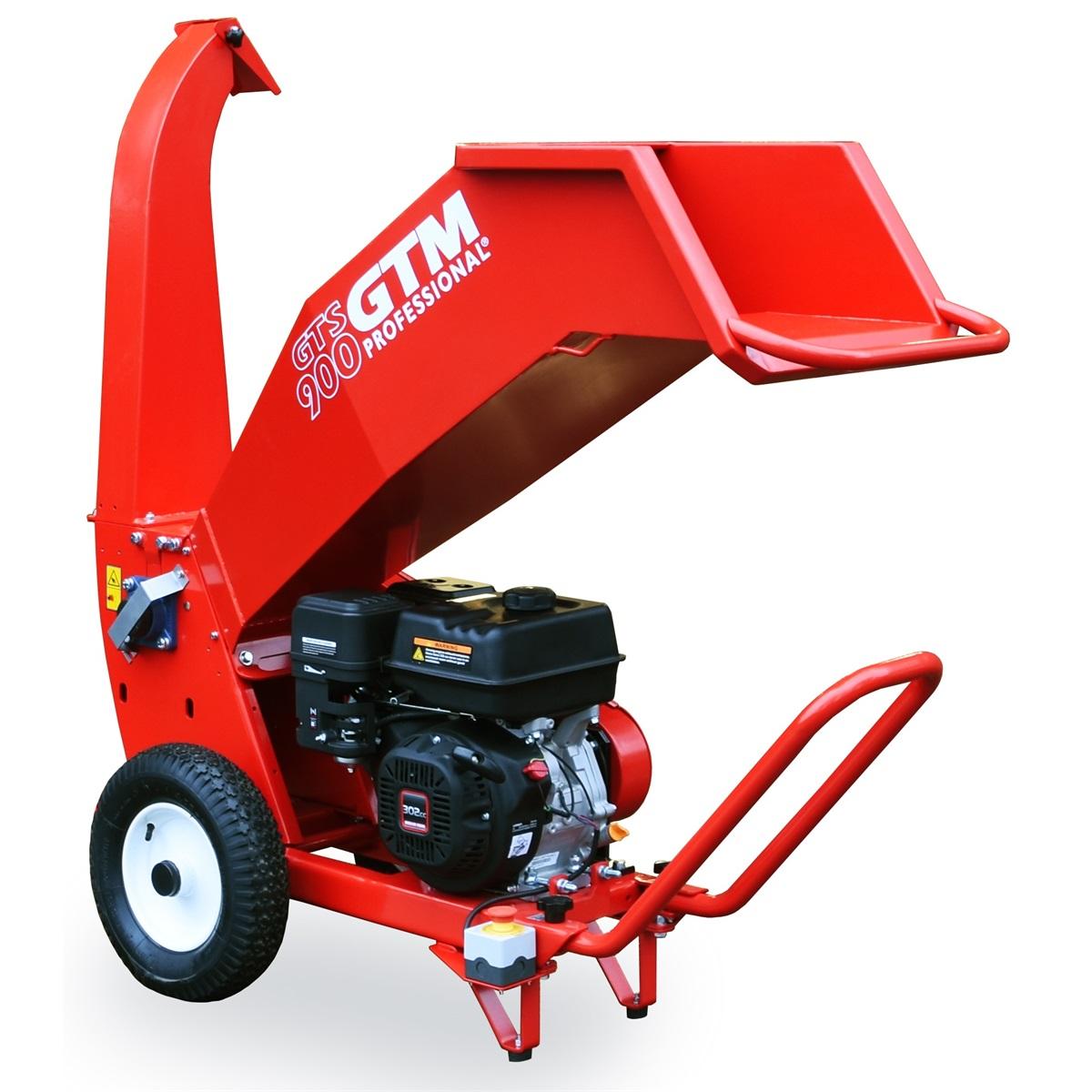 GTS 900G - drtič dřeva s benzinovým motorem