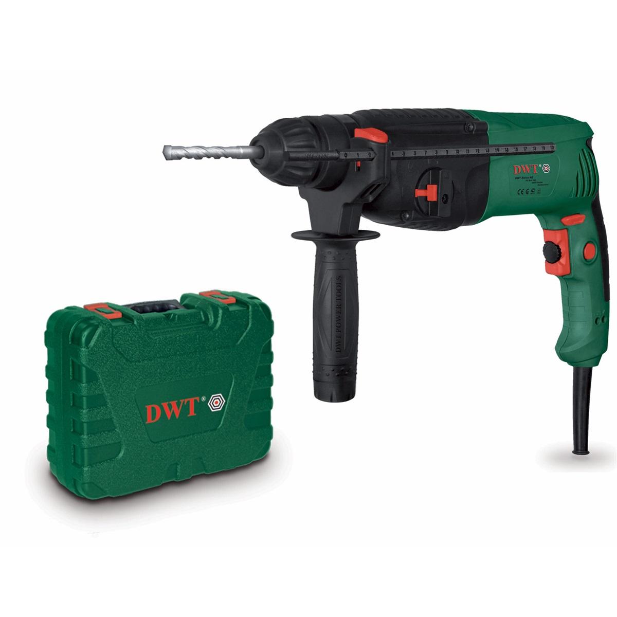 DWT SBH08-26 T BMC - elektrické vrtací kladivo SDS+ v kufru 850 W