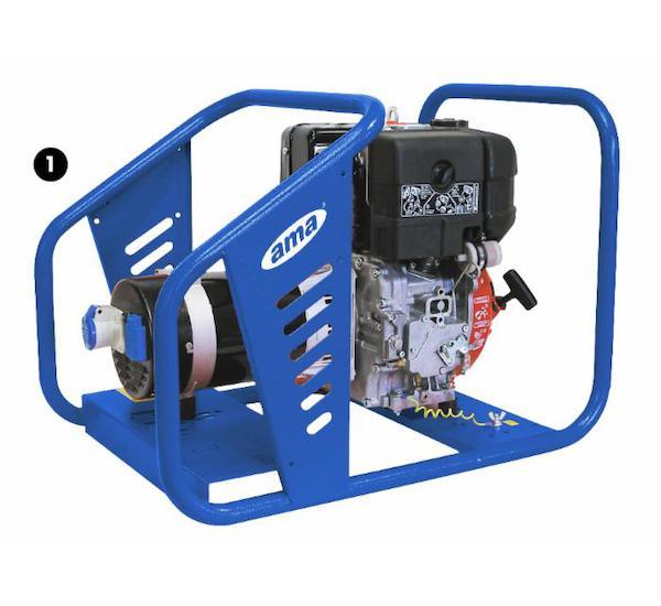 Elektrocentrála 230 V/4,6 kW - diesel