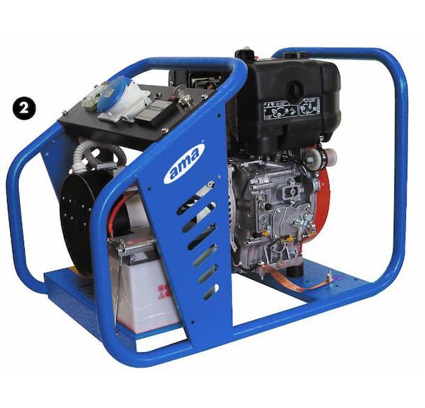 Elektrocentrála 7 kW - diesel
