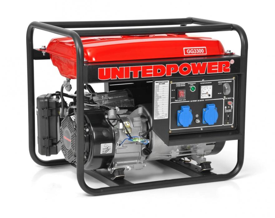 UNITEDPOWER GG 3300 - benzínový generátor proudu