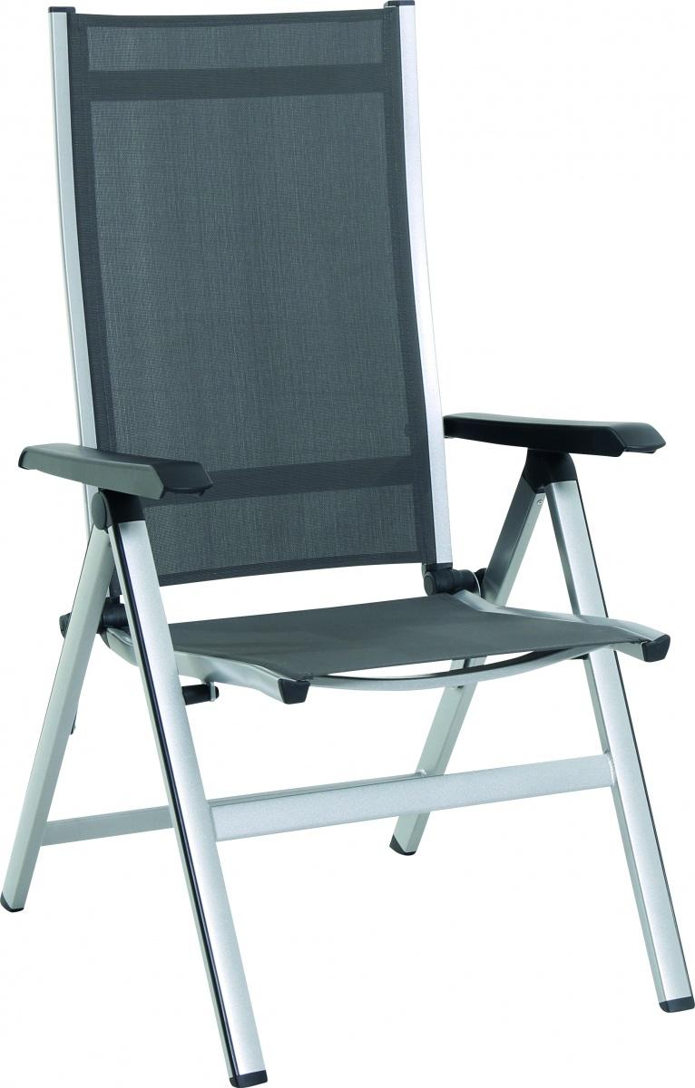 Elements - hliníková polohovatelná židle 68 x 62 x 110 cm