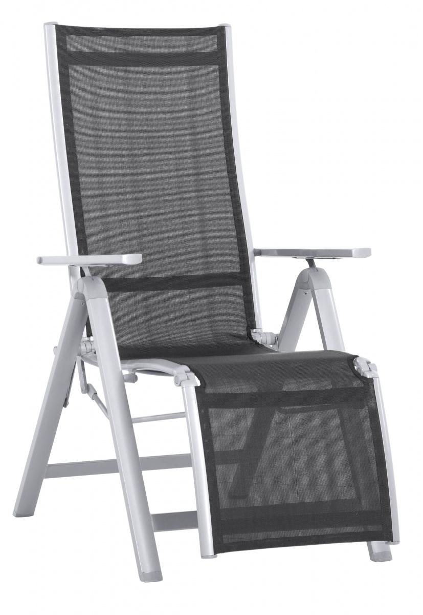 Evan LUX Comfort - hliníkové relaxační polohovatelné křeslo 230 x 95 x 74 cm