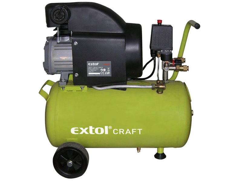 EXTOL CRAFT 24 L olejový kompresor 1 500 W