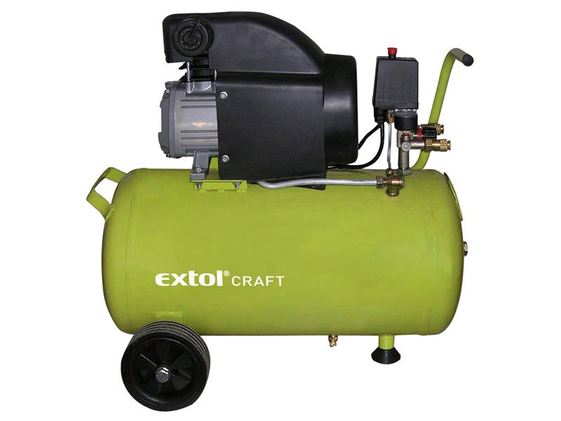 EXTOL CRAFT 50 L olejový kompresor 1 500 W