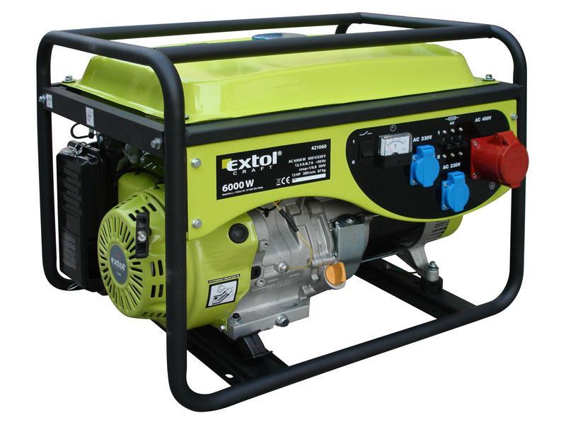 EXTOL CRAFT benzínová elektrocentrála 13 HP