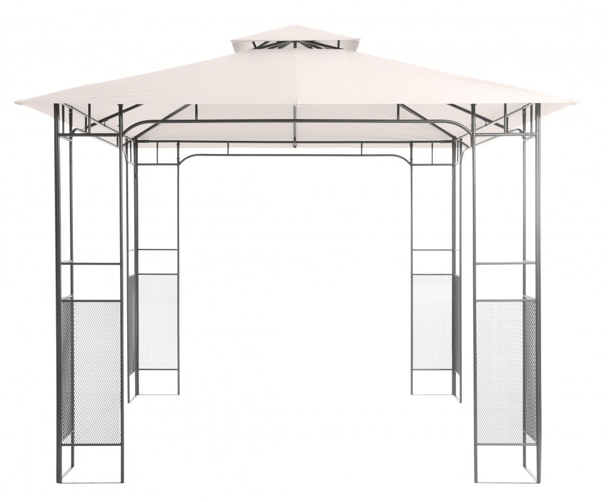 Florence - zahradní kovový altán 300 x 300 x 270 cm
