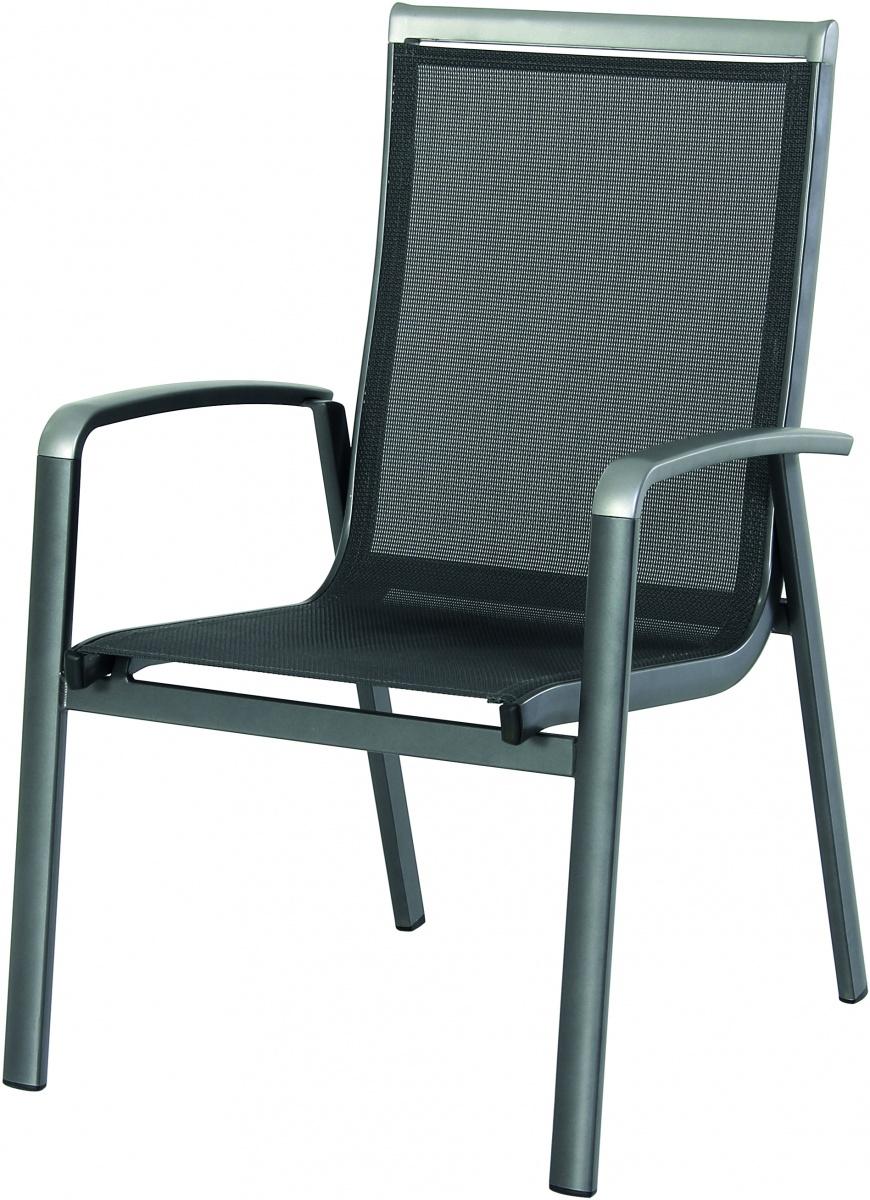 Forios - hliníková stohovatelná židle