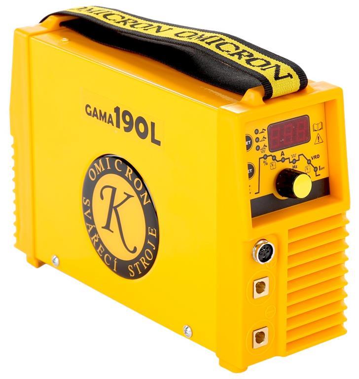 GAMA 190L - svářecí invertor
