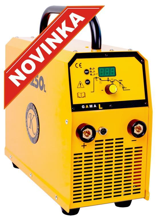GAMA 250L - třífázový invertorový svářecí stroj