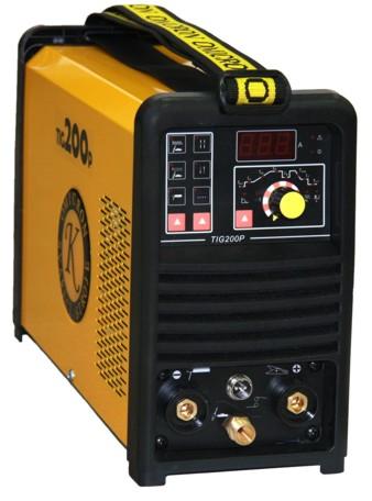 GAMA TIG 200P HF - invertorový svářecí zdroj včetně hořáku TIG a zemnícího kabelu