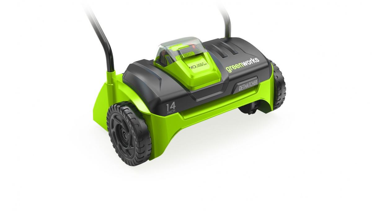 Greenworks G40DT30 - 40 V aku travní provzdušňovač 32 cm