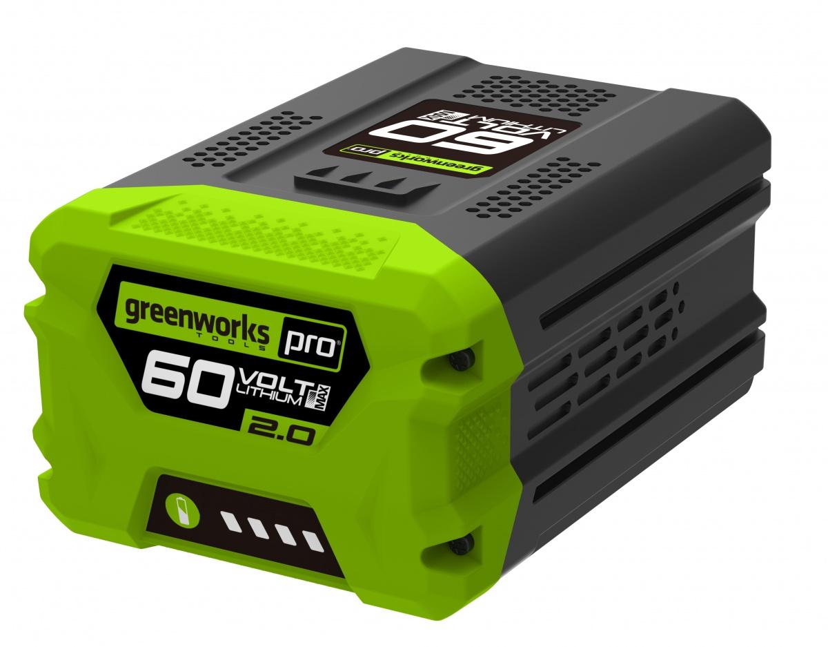 Greenworks G60B2 - 60 V lithium iontová baterie 2 Ah