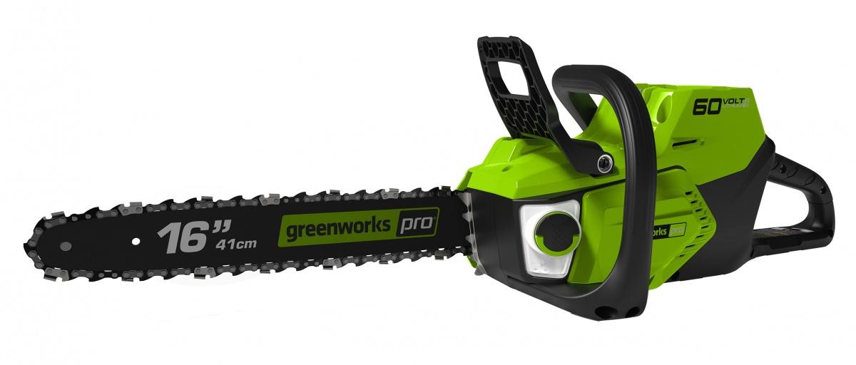 Greenworks GD60CS40 - 60 V aku řetězová pila s indukčním motorem
