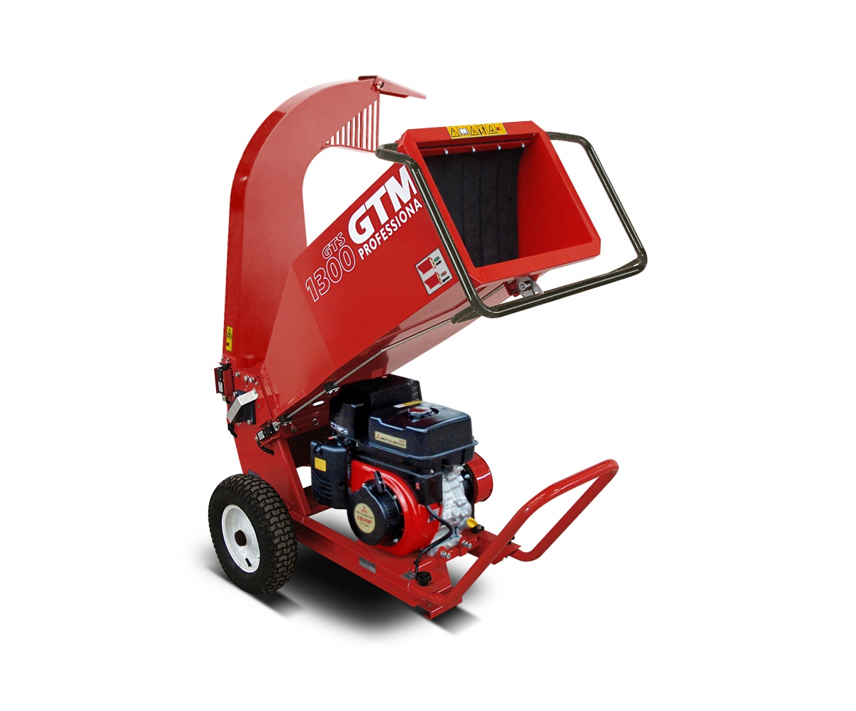 GTS 1300M - drtič dřeva s benzinovým motorem