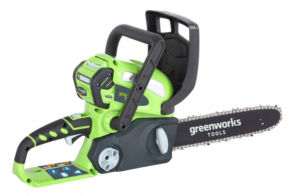 Greenworks G40CS30 - řetězová pila s aku motorem 40 V