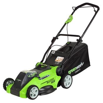 Greenworks G40LM40 - akumulátorová travní sekačka 40 V
