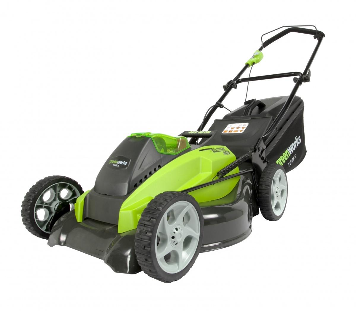 Greenworks GD40LM45 - akumulátorová travní sekačka 40 V s indukčním motorem