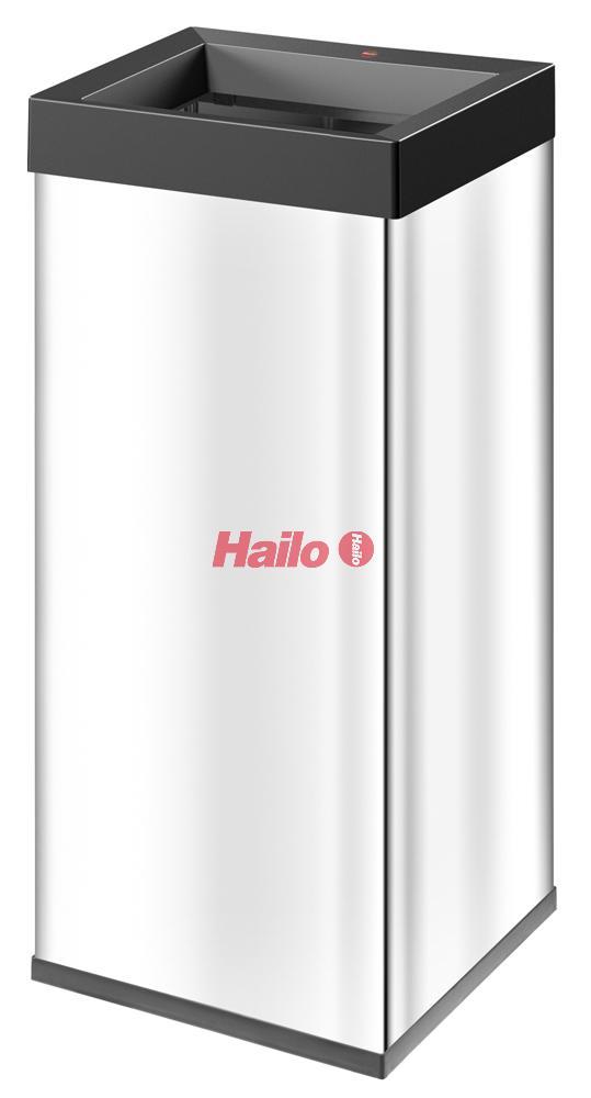 Hailo Big-Box Quick XXL nerez - velkoobjemový odpadkový koš s otevřeným vhodem