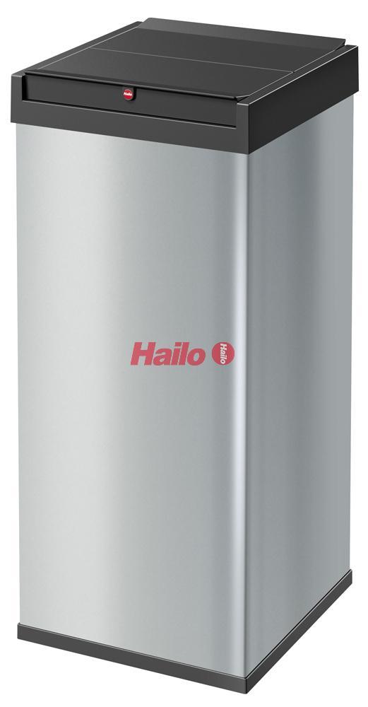 Hailo Big-Box Swing XXL stříbrný - velkoobjemový odpadkový koš