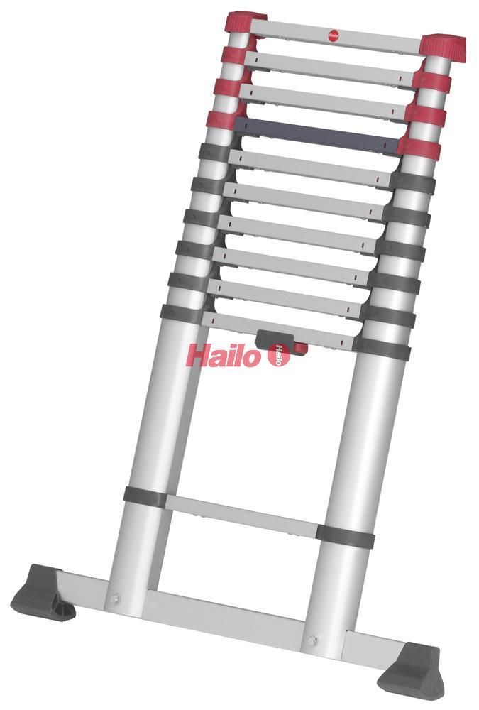 Hailo FlexLine - teleskopický žebřík 11 příček
