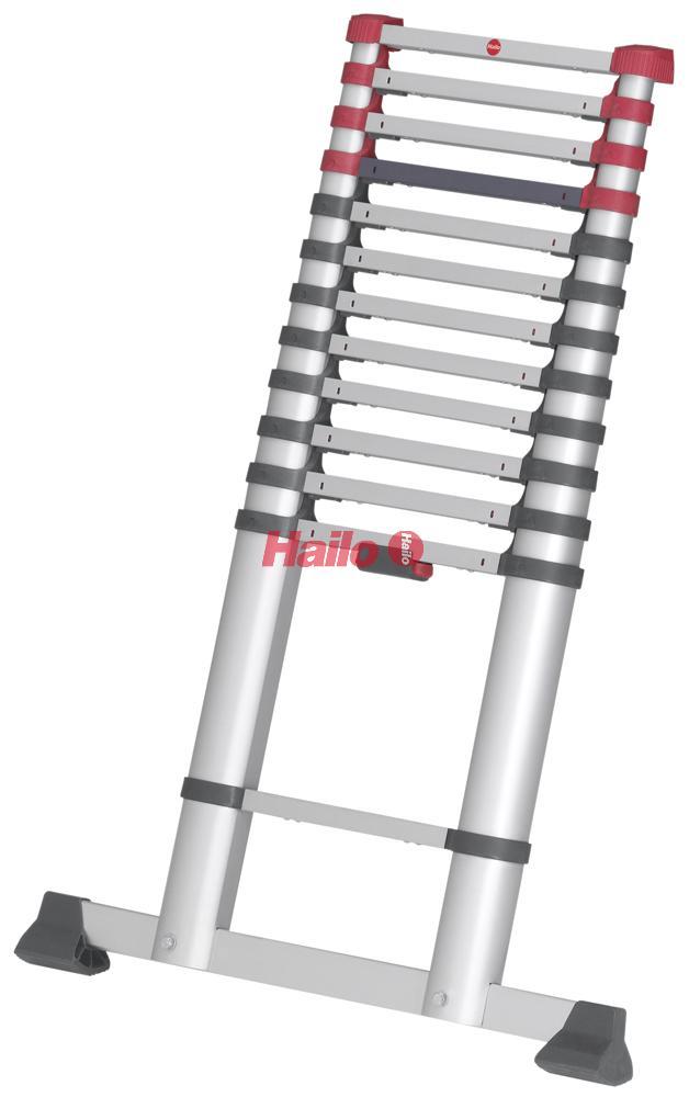 Hailo FlexLine - teleskopický žebřík 13 příček
