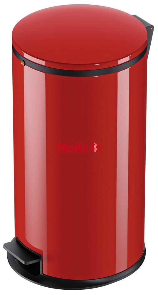 Hailo Pure L červený - designový odpadkový koš